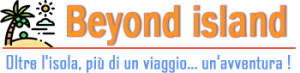 Logo beyond island